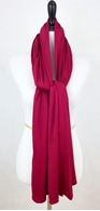 Picture of Maroon Maxi Jersey Shawl