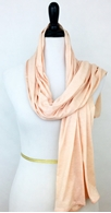 Picture of Light Peach Jersey Sports Wrap