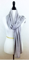 Picture of Light Grey Jersey Sports Wrap