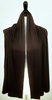 Picture of Chocolate Brown Jersey Wrap with Rhinestones