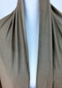 Picture of Khaki - Dark Beige Comfy Chic Cotton Jersey Hijab Wrap