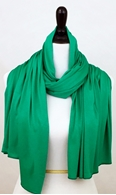 Picture of Green Comfy Chic Cotton Jersey Wrap