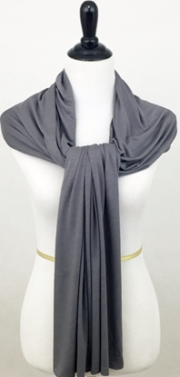 grey cotton jersey hijab