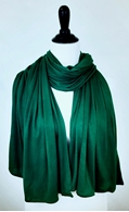 Picture of Emerald Green Maxi Jersey Shawl