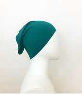 Picture of Green Teal Tube Cap - Turlu Fabric