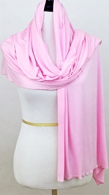 Picture of Baby Pink Comfy Chic Cotton Jersey Wrap