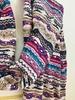 Picture of Cooling Tribal Patterned Stripes Hijab Violet