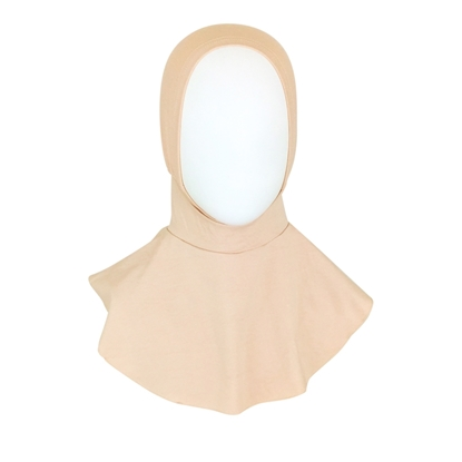 Picture of Stretchy  Ninja Hijab Undercap Beige - Turlu Fabric