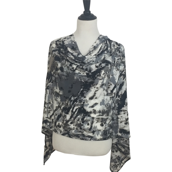 Picture of Grey Rocks - Drapey Scarf