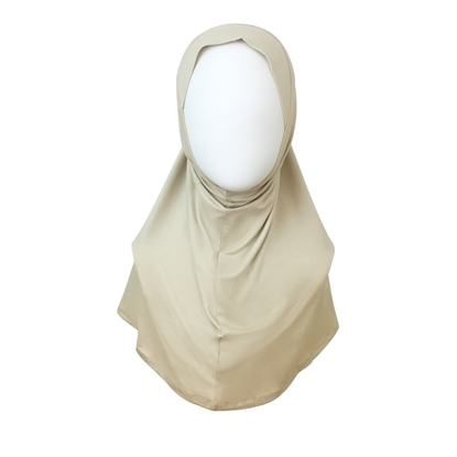 Amira one piece hijab regular size beige