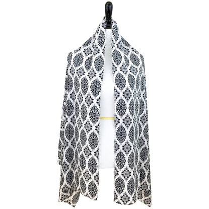 Picture of Damask Print Scarf