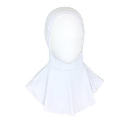 Picture of Hijab Stretchy White Ninja Undercap - Turlu Fabric