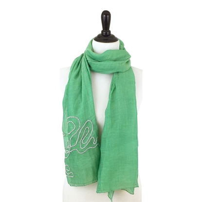 Picture of Swirly Beads Scarf