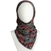 Picture of Multi-Patterned Red & Grey Hijab