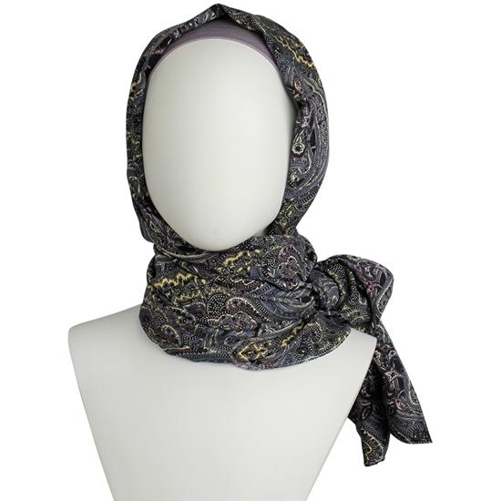 printed hijab
