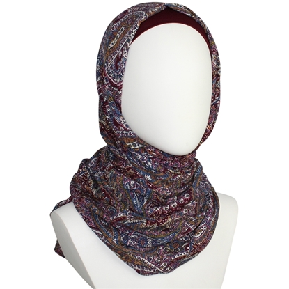 Picture of Shades of Plum Hijab