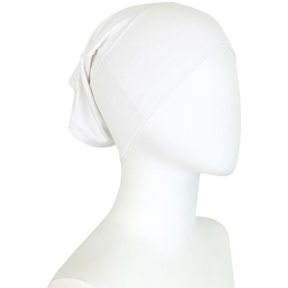 Picture of Hijab Side Seams White Tube Undercap