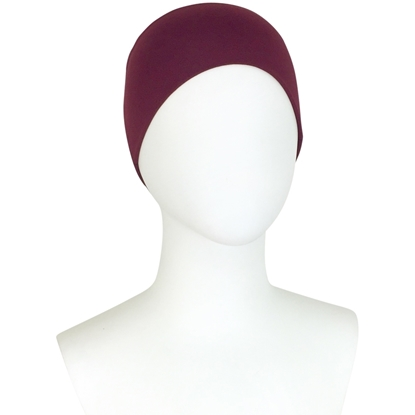 Picture of Hijab Side Seams Sumac Maroon Tube Undercap