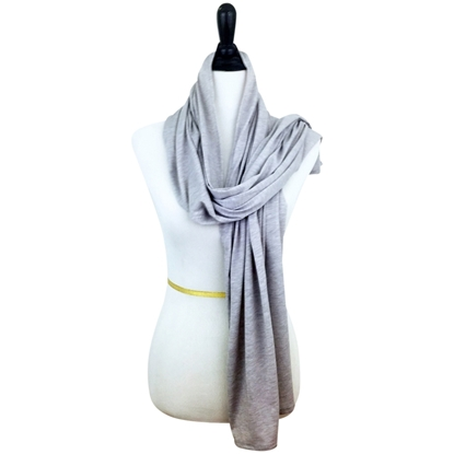 Picture of Light Grey NON Stretchy Cotton Sports Wrap
