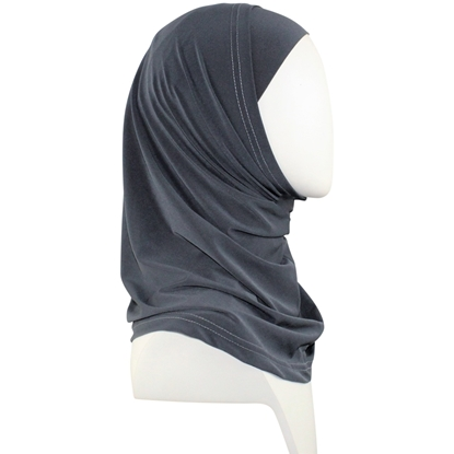Picture of Grey RAYON Two-Piece Amira - Regular Size, smaller cap