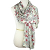 Picture of Positive Vibes Patterned Jersey Hijab  - Soft & Light