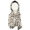 floral cotton hijab