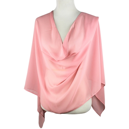 Picture of Chiffon Hijab Powder Pink Neutral