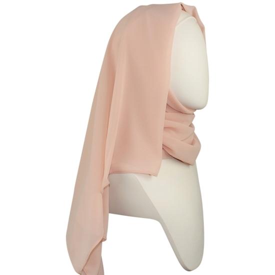 Picture of Chiffon Hijab  Pale Blush Neutral