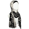 Picture of Double Patterned Cotton Jersey Hijab Soft & Drapey
