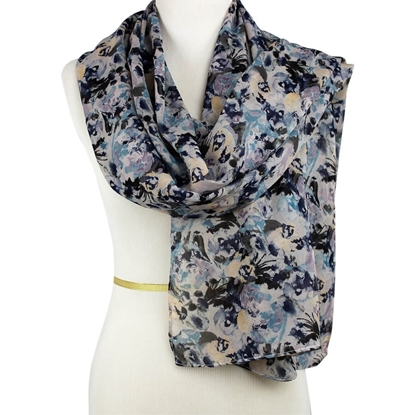 Picture of Everyday Patterned Chiffon Hijab