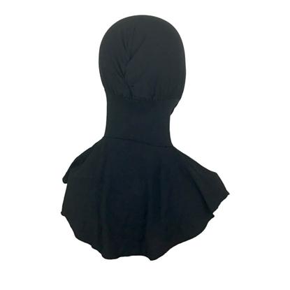 Picture of Hijab Stretchy Black Ninja Undercap -Turlu Fabric