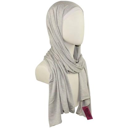 grey cotton jersey hijab