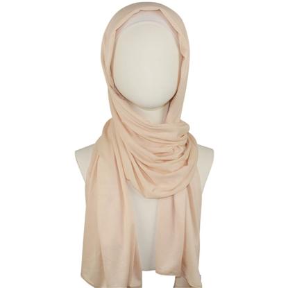 neutral cotton jersey hijab