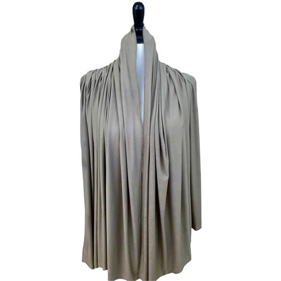khaki cotton jersey hijab