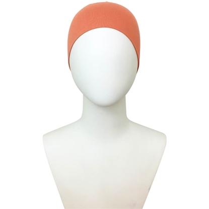 Peach tube cap | hijab undercap