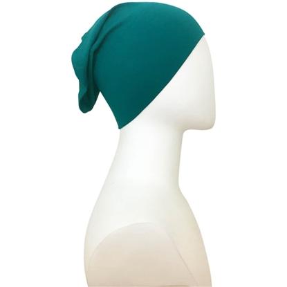 green tube cap | HIjab undercap