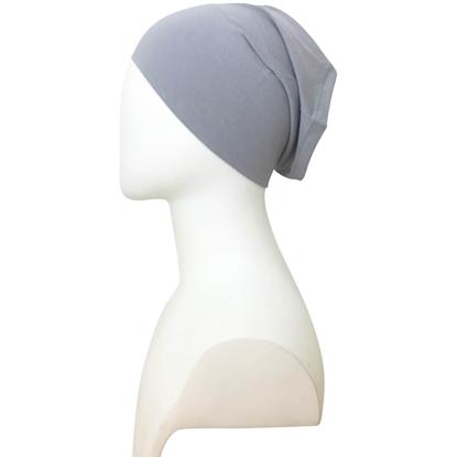 grey tube cap | hijab undercap