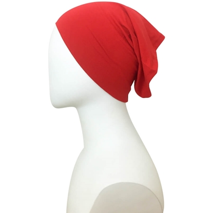 red tube cap | hijab undercap