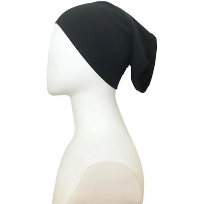 black tube cap | hijab undercap