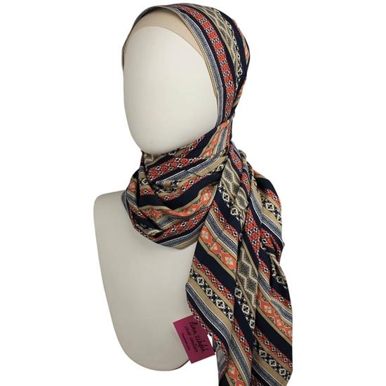 Patterned Hijab