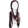 patterned jersey hijab | Floral Jersey hijab | Lina Zibdeh