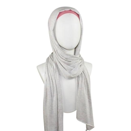 Beige Cotton Jersey Hijab | Sports Hijabs | Lina Zibdeh Hijab shop