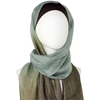 Picture of Ombre Tealish Brown Silk & Wool Hijab Scarf