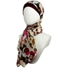 Picture of Fields of Roses Georgette Hijab