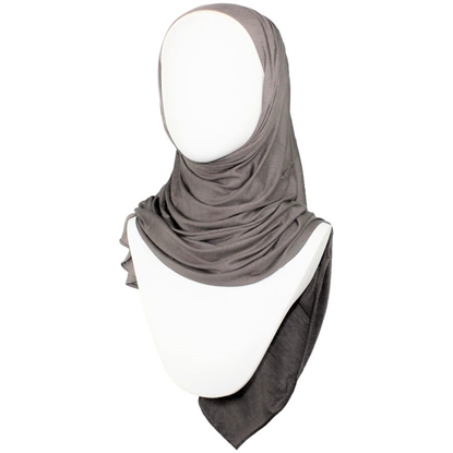 Picture of Kuwaiti Rustic Brown Jersey Hijab