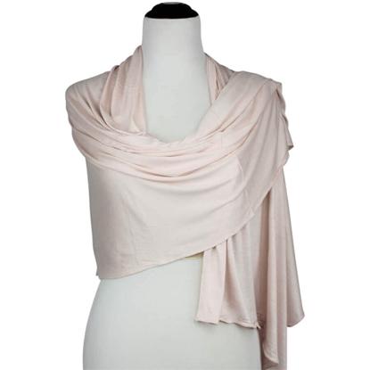 Picture of Kuwaiti Pale Blush Jersey Hijab