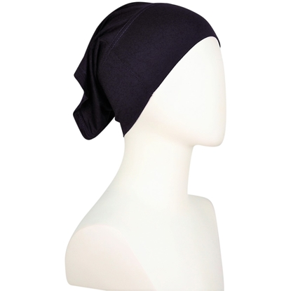 Picture of Hijab Side Seams Dark Navy Blue Tube Undercap