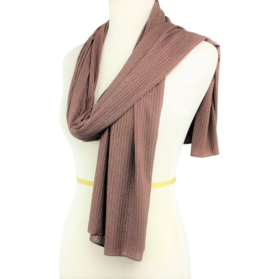 Picture of Kuwaiti Brown SO Soft & Light  Hijab