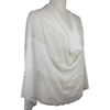 Picture of Elegance in Lace  Kuwaiti Hijab - Cream