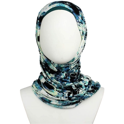Picture of Practically Everyday Patterned Jersey Hijab
